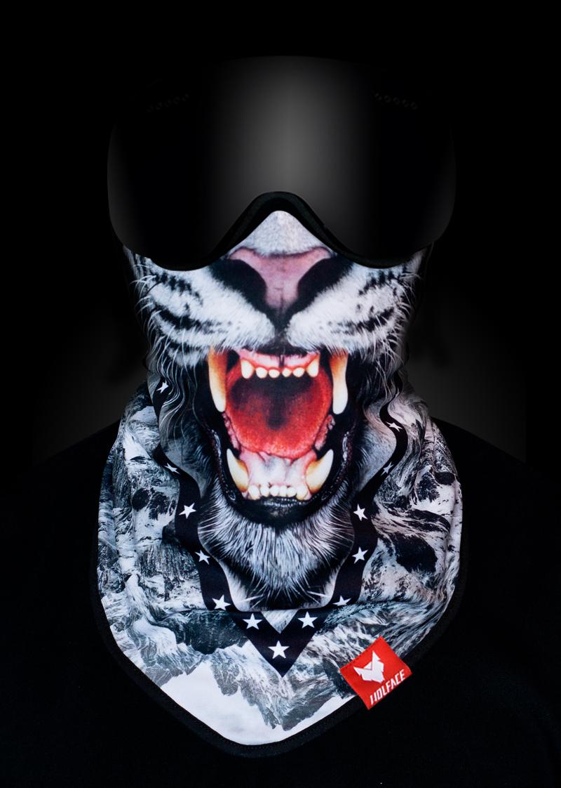Bandana SNOW TIGER - WOLFACE the face masks - bandany ef5a74327a23