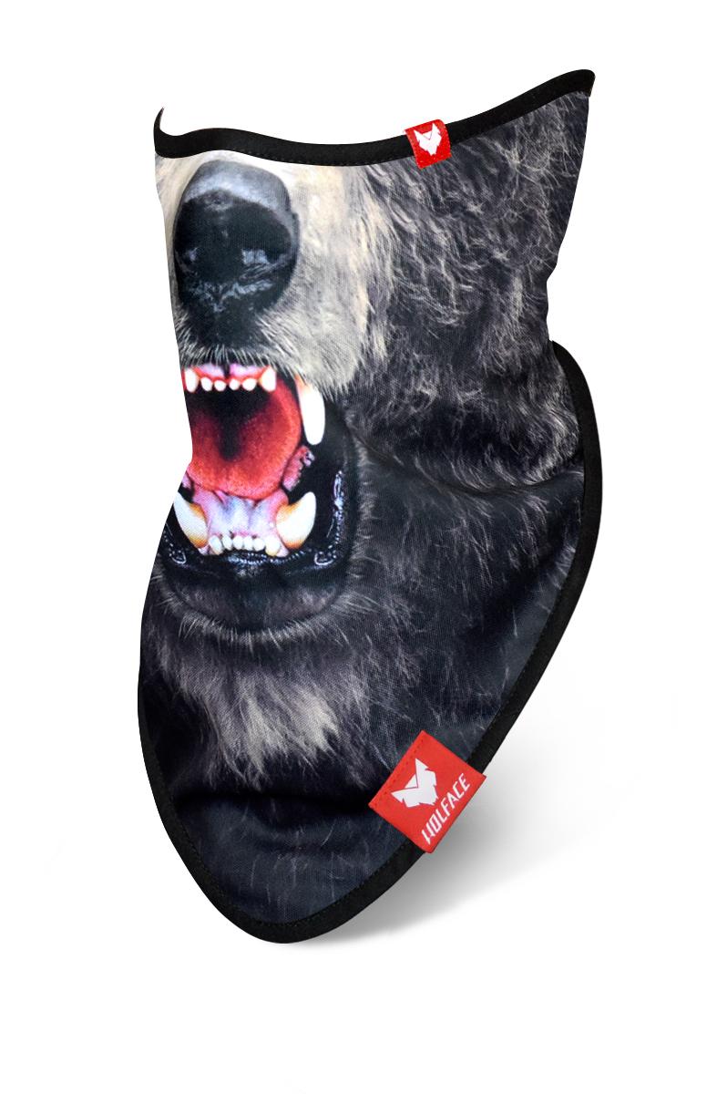 Bandana Grizzly Bear - Wolface The Face Masks